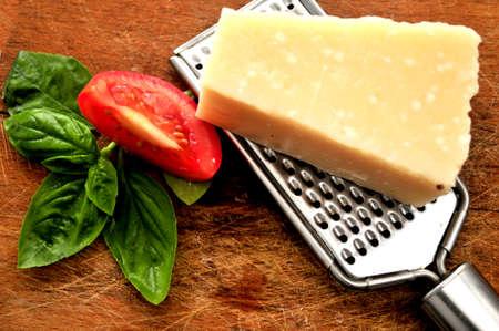 elaboration: pesto sauce ingredients for elaboration of clasical sauce of pesto italian culinary art