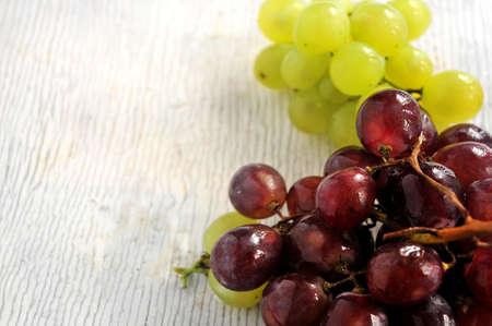 elaboration: grapes for harvesting and wine elaboration making  Stock Photo