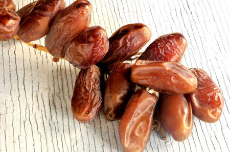 date fruit from phoenix dactylifera palm tree fruit  Stock Photo