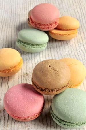 elaboration: macaroon french delicious elaboration dessert