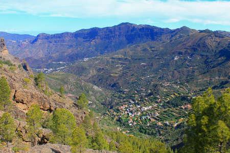 Ravine in Gran Canaria