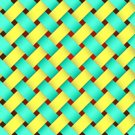 braided texture for background  Illustration