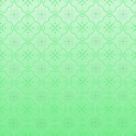 crocket:  Seamless ornamental wallpaper