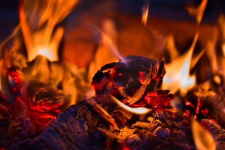 decaying: Decaying coals for cooking and a background Decaying coals for cooking and a background Stock Photo