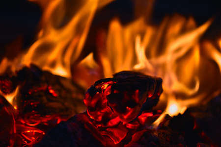ember: Decaying coals for cooking and a background Decaying coals for cooking and a background Stock Photo