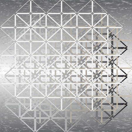 background from a rewattled abstract steel design Stock Vector - 15298116