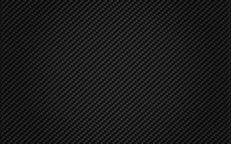 black background from woven Carbon Fiber Illustration