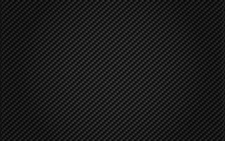 sfondo nero in fibra di carbonio tessuto Vettoriali