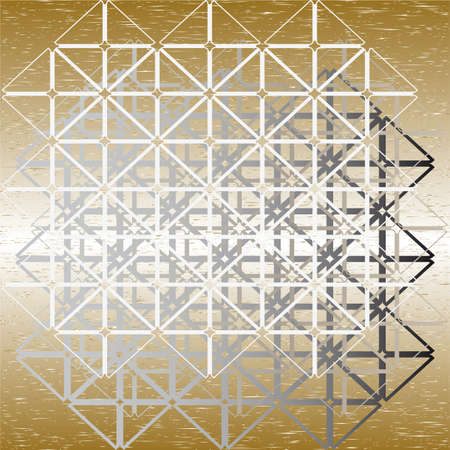 weaved: background from a rewattled abstract steel design