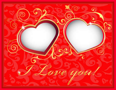 happy valentines day cards postcard heart and love holiday on every day
