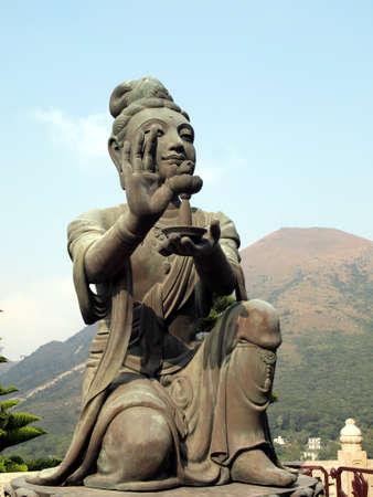 chinese buddha: Chinese Buddha image Stock Photo