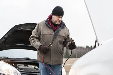 stocking cap: Problems with the car on the road