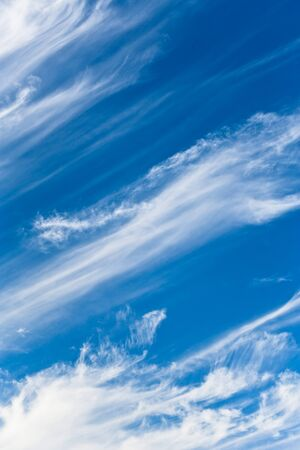 atmospheric: Atmospheric clouds in the sky in Seville, Spain