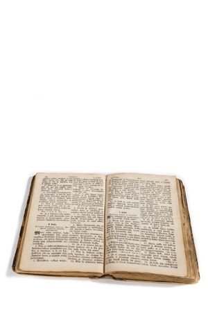 old and new: Old New Testament pages in Finnish