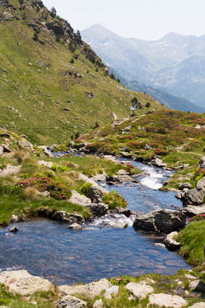 pyrenees: Fresh water in the Pyrenees in Andorra