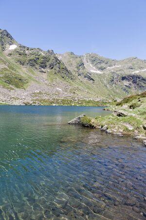 andorra: Summer landscape of the Pyrenees, Andorra Stock Photo