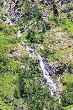 cascade: Cascade in Andorra Stock Photo