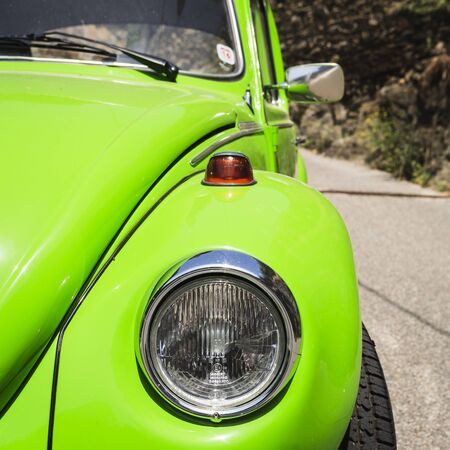 vw: Close up picture of a VW Beetle Editorial