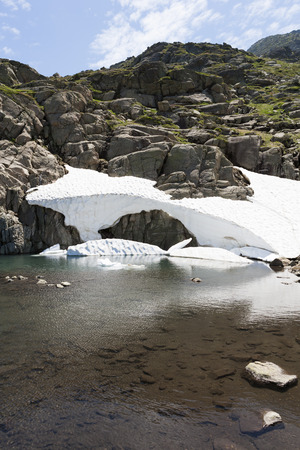 pyrenees: Summer Snow in the Pyrenees