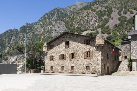 general cultural heritage: Casa de la Vall is a historic building in Andorra la Vella