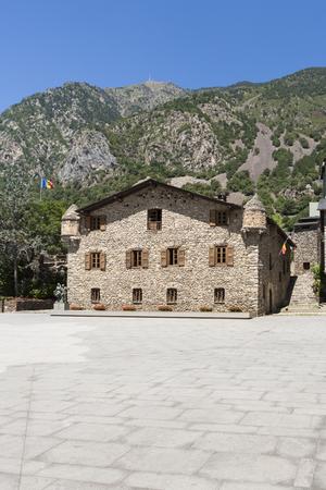 tourism in andorra: Casa de la Vall is a historic building in Andorra la Vella