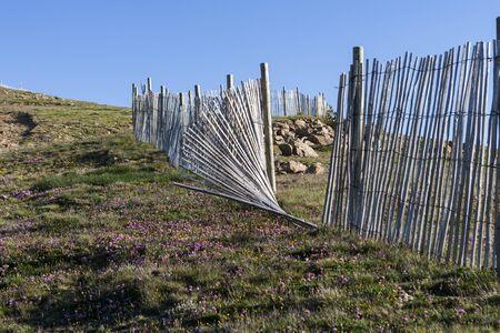 broken hill: Broken Fence