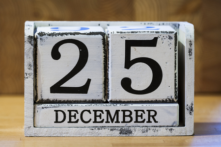 2 5 months: Christmas Day