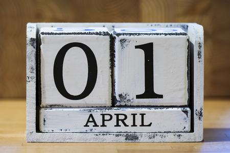 April Fool's Day Banque d'images