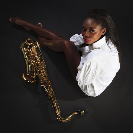 african sax: Beauty with Sax