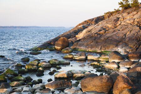 baltic sea: Baltic Sea Shore Stock Photo