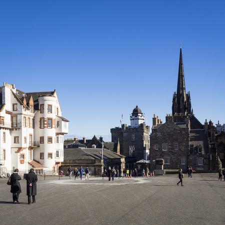 old people: Buildings and people in Edinburgh Old Town