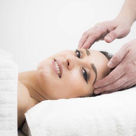 parlor: Young lady at massage parlor