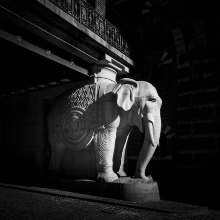 carlsberg: Carlsberg Brewery Elephant Gate in Copenhagen Editorial