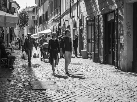 Trastevere, Rome Editorial