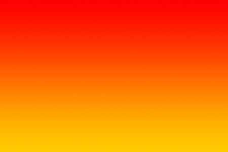 An horizontal gradient fading from yellow via orange to red. Stock Photo - 10957343