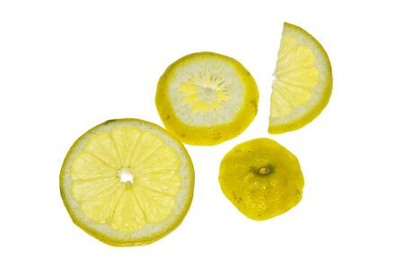 citric acid: Lemon slices Placed in the backlight.