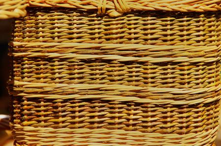 Pattern of wickerwork of a basket