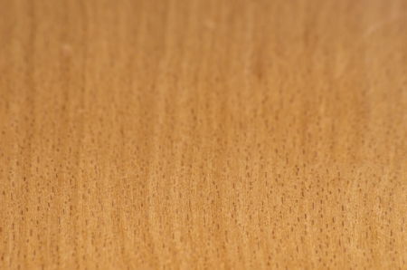 Texture of a beechwood plate with blur. Stock Photo