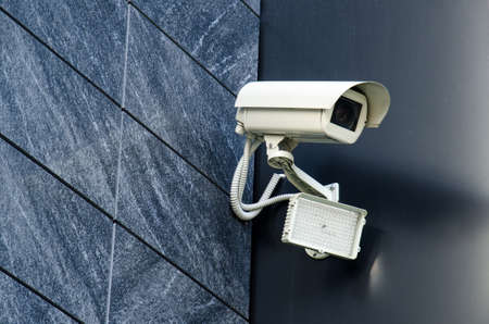 private property: Security camera Private property protection