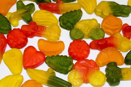 candy jelly with various shape and taste Stock Photo