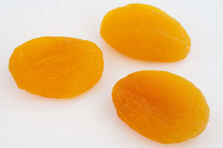 group of dried apricot