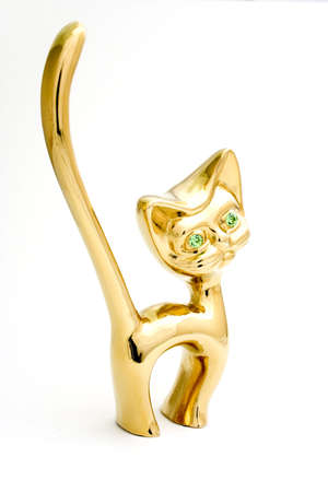 aureate: aureate holder for rings in the form of cat