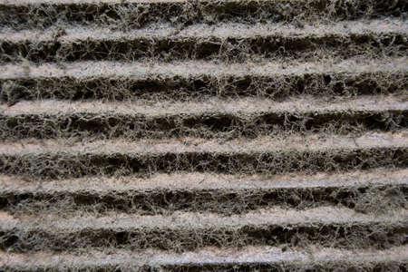 weerzinwekkend: stof ophoping in de drawoff