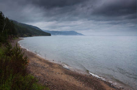 lake Baikal dramatic view