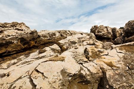 crack climb: Rocky Beach near Lisbon