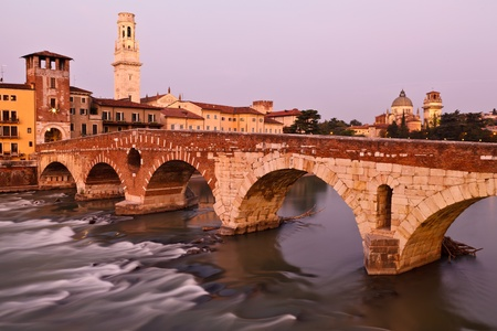 Bridge in Verona Stock Photo - 11242818
