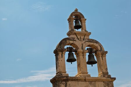 church bells: Bell Tower in Dubrovnik, Croatia