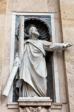 Marble Sculpture of Jesus Christ in Genoa, Italy Stock Photo - 12461525