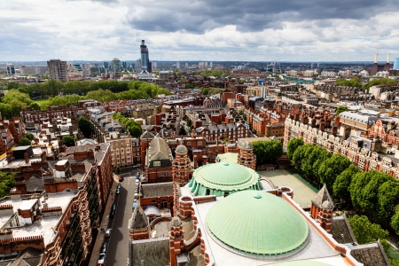 Aerial View from Westminster Cathedral on Roofs and Houses of London United Kingdom photo & Rooftop View Over Whitehall London England UK With The Roof ... memphite.com