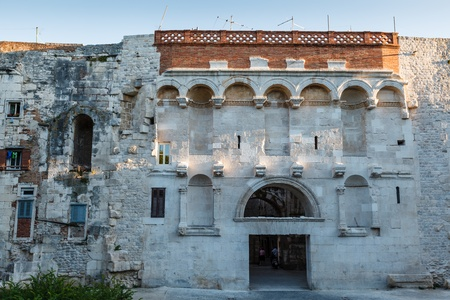 Golden Gate in Diocletian Palace in Split, Croatia photo